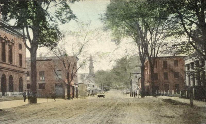 Main_Street Windsor VT 1910